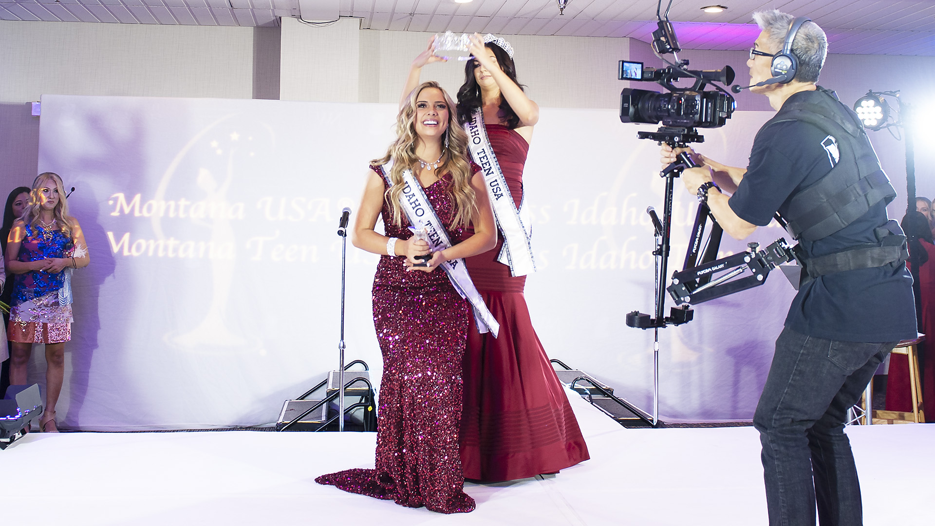 Kallie Peck named Miss Idaho Teen USA 2021!